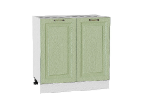 Шкаф нижний с 2-мя дверцами Ницца Н800 в цвете дуб оливковый