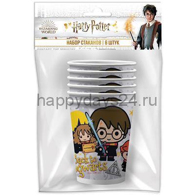 Стаканы Гарри Поттер 6 шт