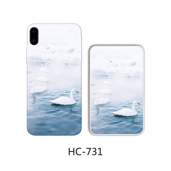 Защитный чехол HOCO Colorful and graceful series для iPhoneXS (лебеди плывут)