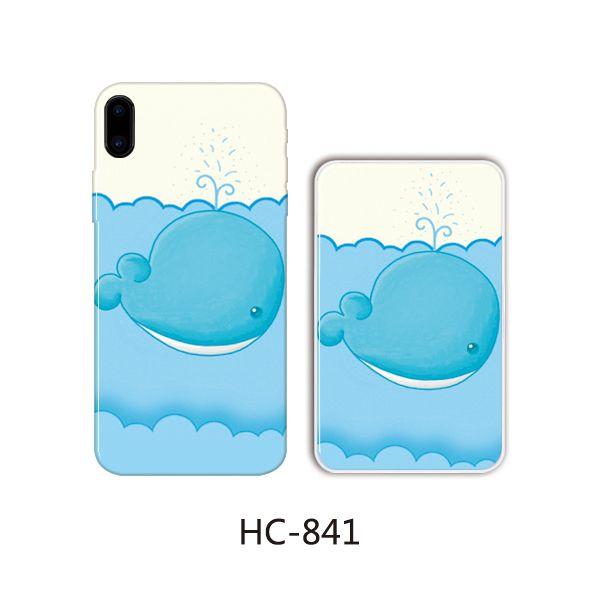 Защитный чехол HOCO Colorful and graceful series для iPhone 5/5S (кит плывет)
