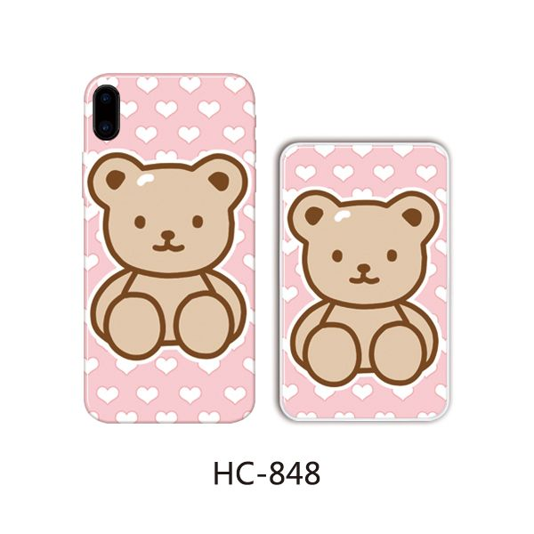 Защитный чехол HOCO Colorful and graceful series для iPhoneXS (плюшевый мишутка)