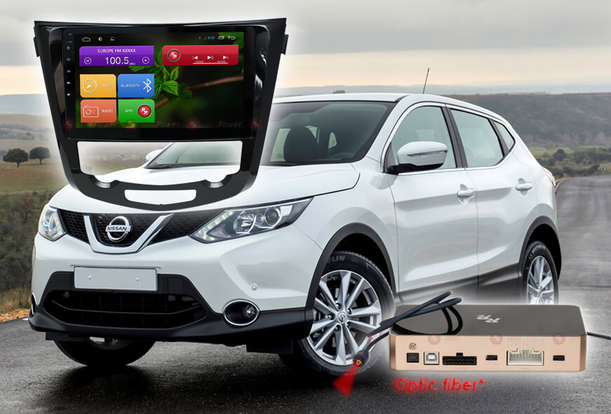 Redpower 31301 R IPS DSP ANDROID 7 Магнитола Nissan (X-Trail, Qashqai) с климат-контролем.