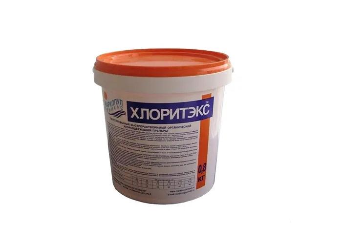 Хлоритэкс таблетки 20 г. 0.8 кг