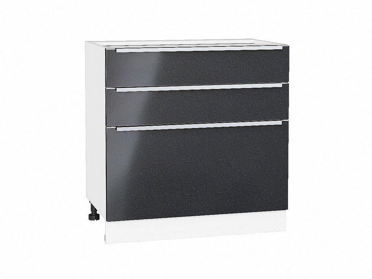Шкаф нижний Фьюжн Н803 Anthracite