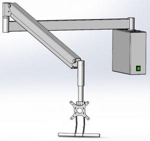 Кронштейн DS-Pant-Titan, для крепления портативного аппарата.