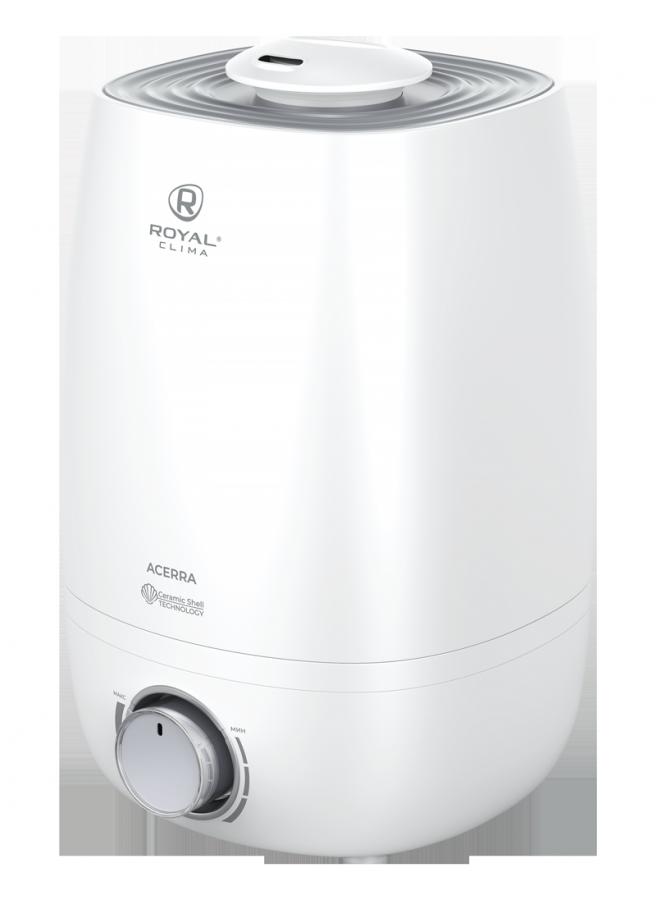 Увлажнитель воздуха ультразвуковой Royal Clima ACERRA RUH-AC300/4.0M-WT, 4 л, 30 м2, ароматизация