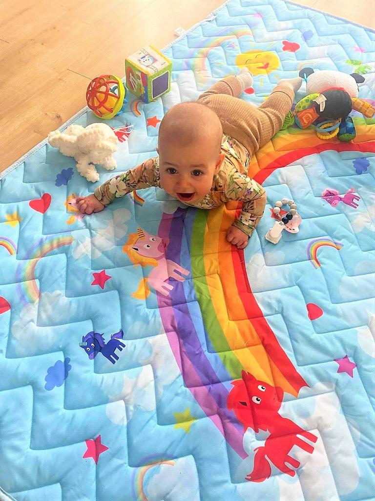 Детский,мягкий коврик 115x150см