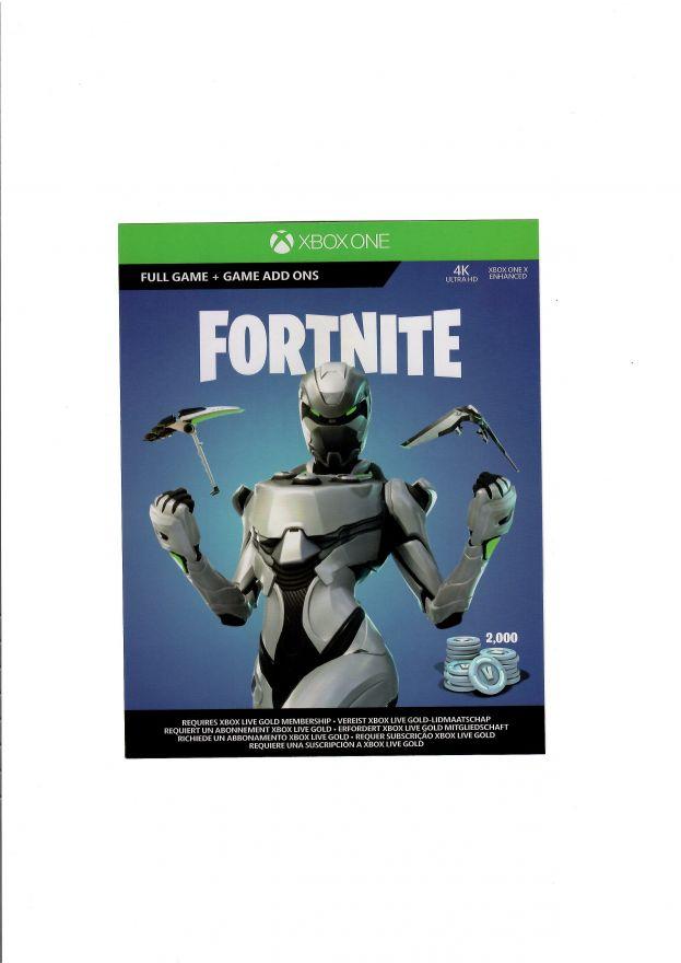 Игра FORTNITE (Xbox One) (Код на загрузку)