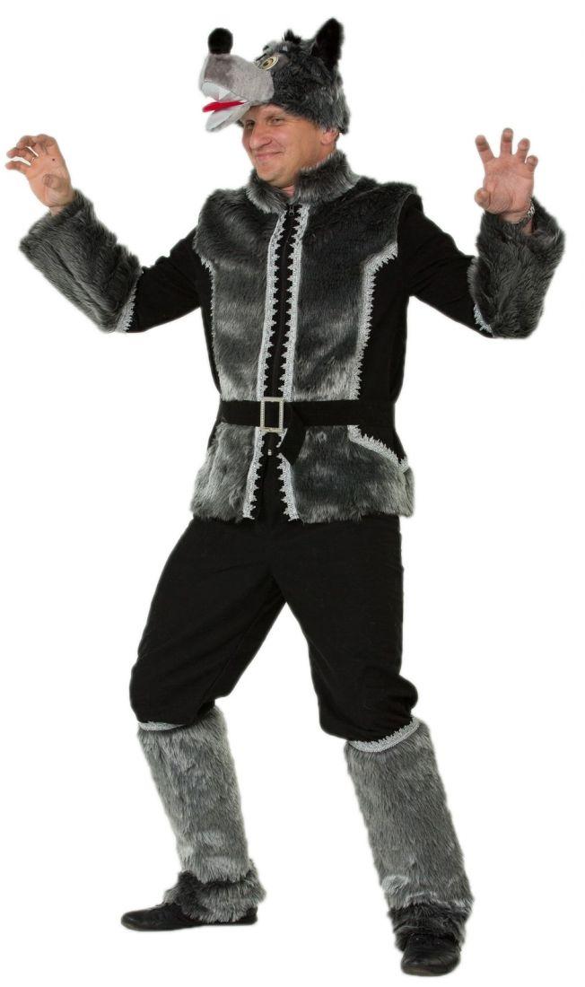 Бархатный костюм Серого Волка