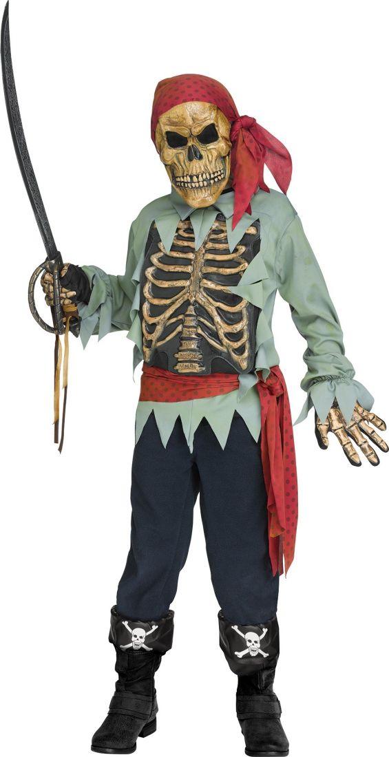 Детский костюм Скелета пирата