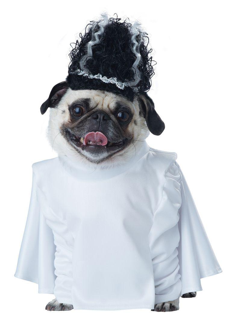 Костюм для собак Невеста Франкенштейна