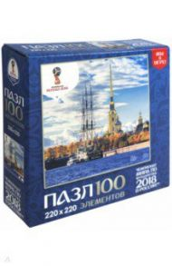 "Пазл-100 ""Города. Санкт-Петербург"" (03797)"