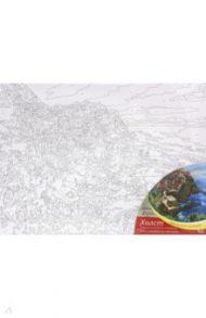 """Холст для рисования по номерам """"Италия. Манарола"""" (30х40 см) (Х-5791)"""