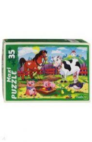 """Maxi puzzle-35 """"Любимая ферма"""" (ПМ-6363)"""