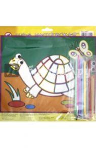 """Картинка из песка """"Черепаха"""" (2630)"""