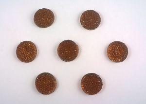 Кабошон (пластик), размер 16мм (1уп=100шт), Арт. КБП0028-16