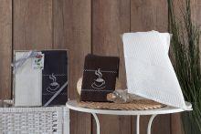 Комплект вафельных полотенец TEA TIME (40*60)*2 Арт.3033-2