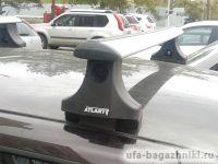 Багажник на крышу Mazda BT-50, Атлант, крыловидные аэродуги