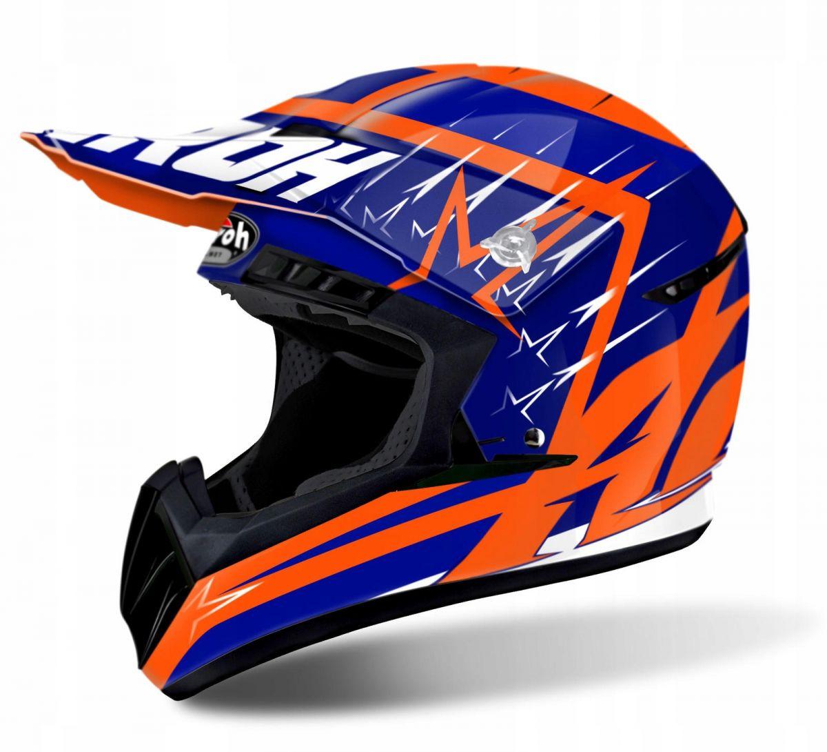 Airoh - Switch Startruck Blue шлем, синий