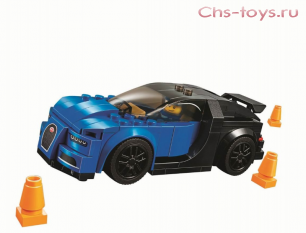 Конструктор Lari Speeds Champion Bugatti Chiron 10777 187 дет