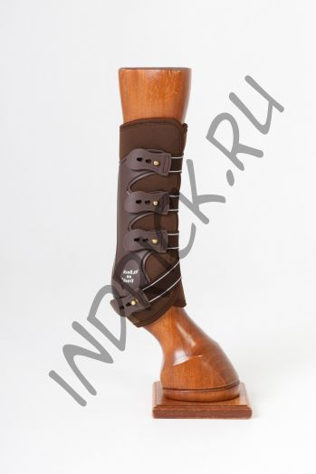 Ногавки Back on Track Royal Work Boots Brown задние