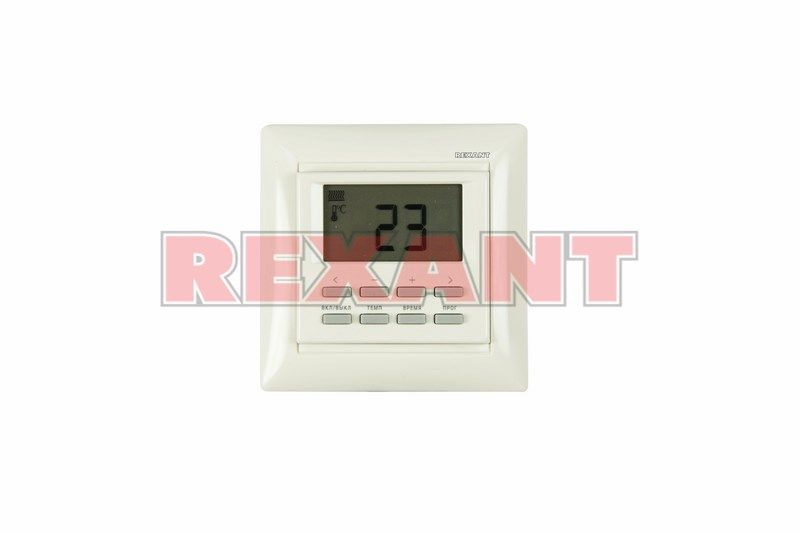 Терморегулятор Rexant электронный программируемый 51-0569