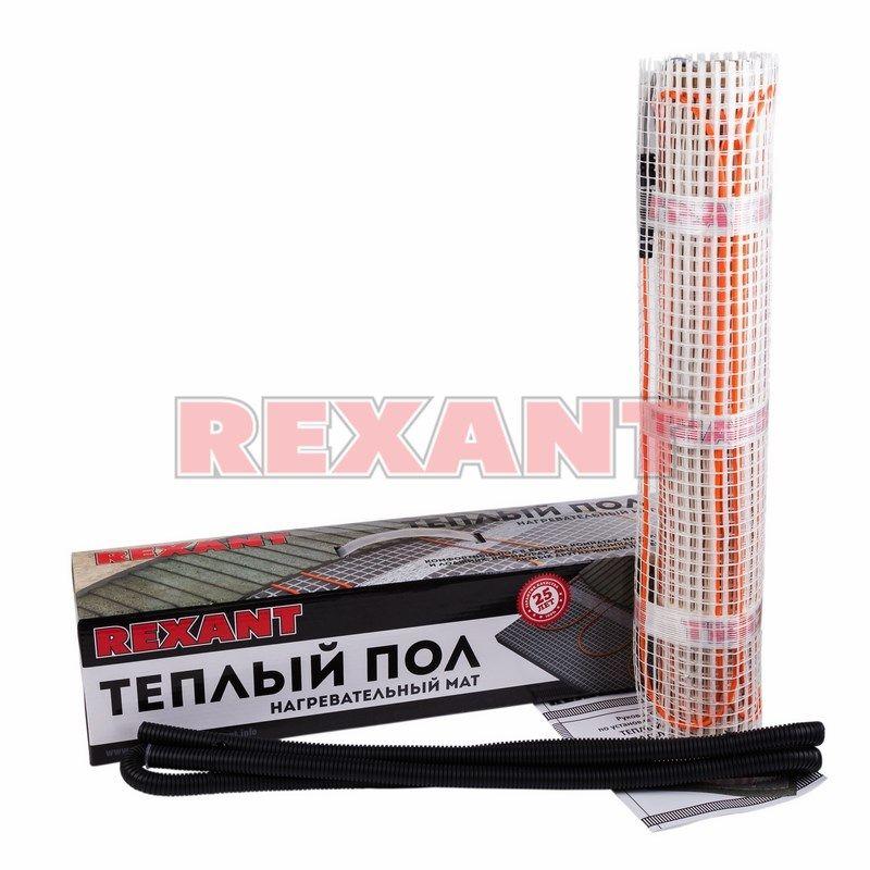 Теплый пол Rexant нагревательный мат 51-0516
