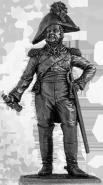 Генерал Д.С.Дохтуров. Россия, 1812 год (олово)