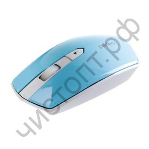 """Мышь беспроводн. Perfeo """"EDGE"""", 4 кн, DPI 800-1600, USB, голубой (PF-838-WOP-BL)"""
