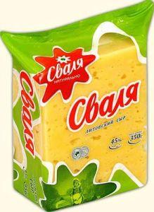 Сыр Сваля Литовский 45%, 250г