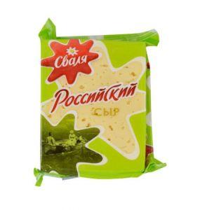 Сыр Сваля Российский 45%, 200г