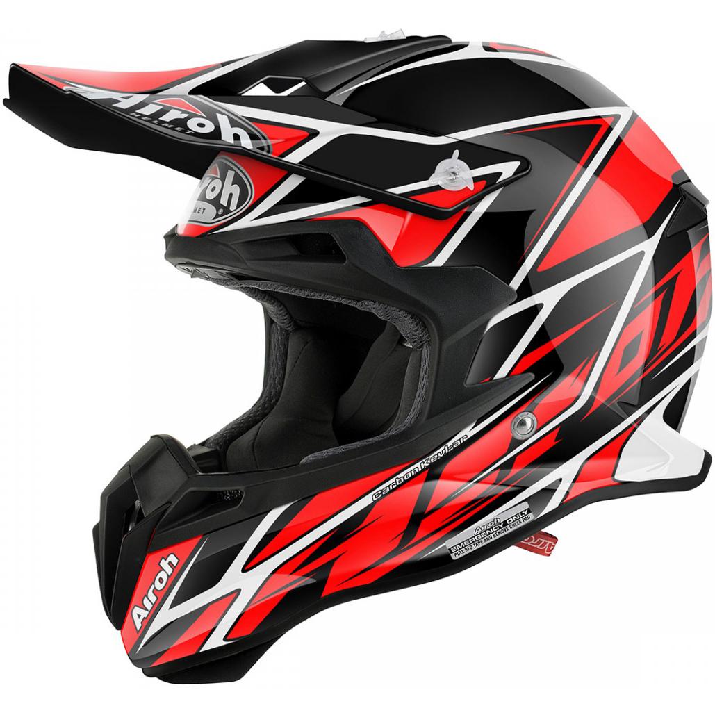 Airoh - Terminator 2.1 Net Red шлем, красный