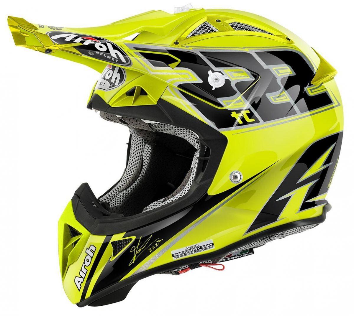 Airoh - Terminator 2.1 TC15 шлем