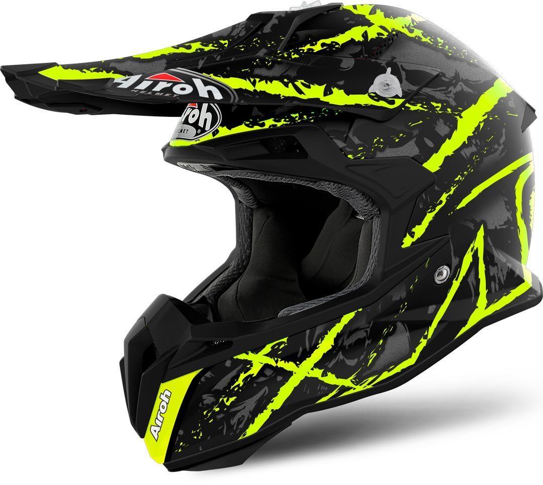 Airoh - Terminator Open Vision Carnage Yellow шлем, желтый