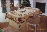 Гобеленовая новогодняя скатерть ЁЛОЧКА 140х220