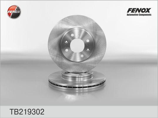 Тормозной диск  Solaris/Rio 3 передний Fenox TB219302