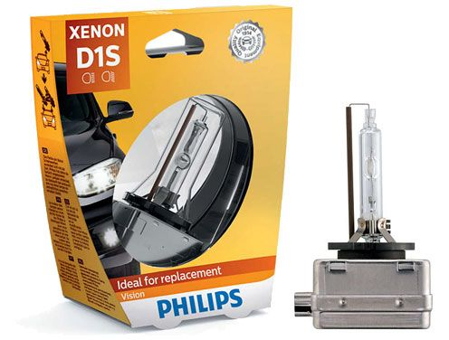 Лампа ксенон D1S  35W 4400K   PHILIPS 85415VIS1