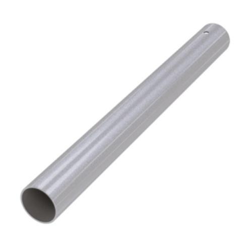 Труба для опоры 1100*60 мм, ХРОМ МАТОВЫЙ, распорное крепление