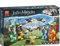 Конструктор Bela Justice Magician Матч по квиддичу 11004 (Аналог LEGO Harry Potter 75956) 536 дет