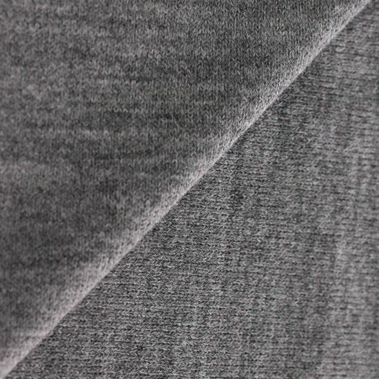 Лоскут трикотажной ткани 50*30 Серый вязаный