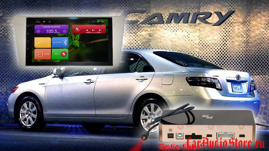 Toyota Camry V40 Redpower 31064 IPS DSP ANDROID 7