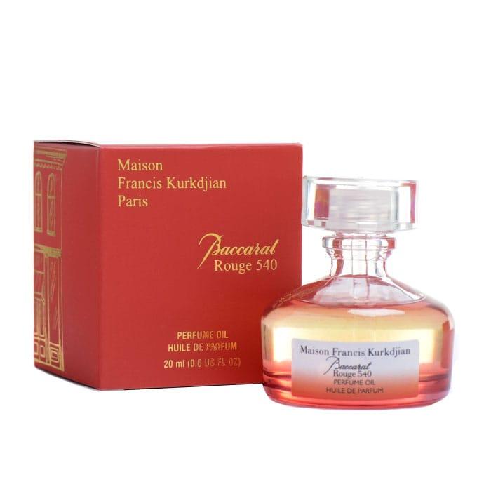 Масляные духи Kurdijan Baccarat Rouge 540 20ml AОЭ