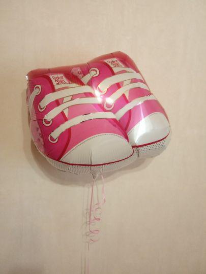 Ботиночки шар фольгированный с гелием