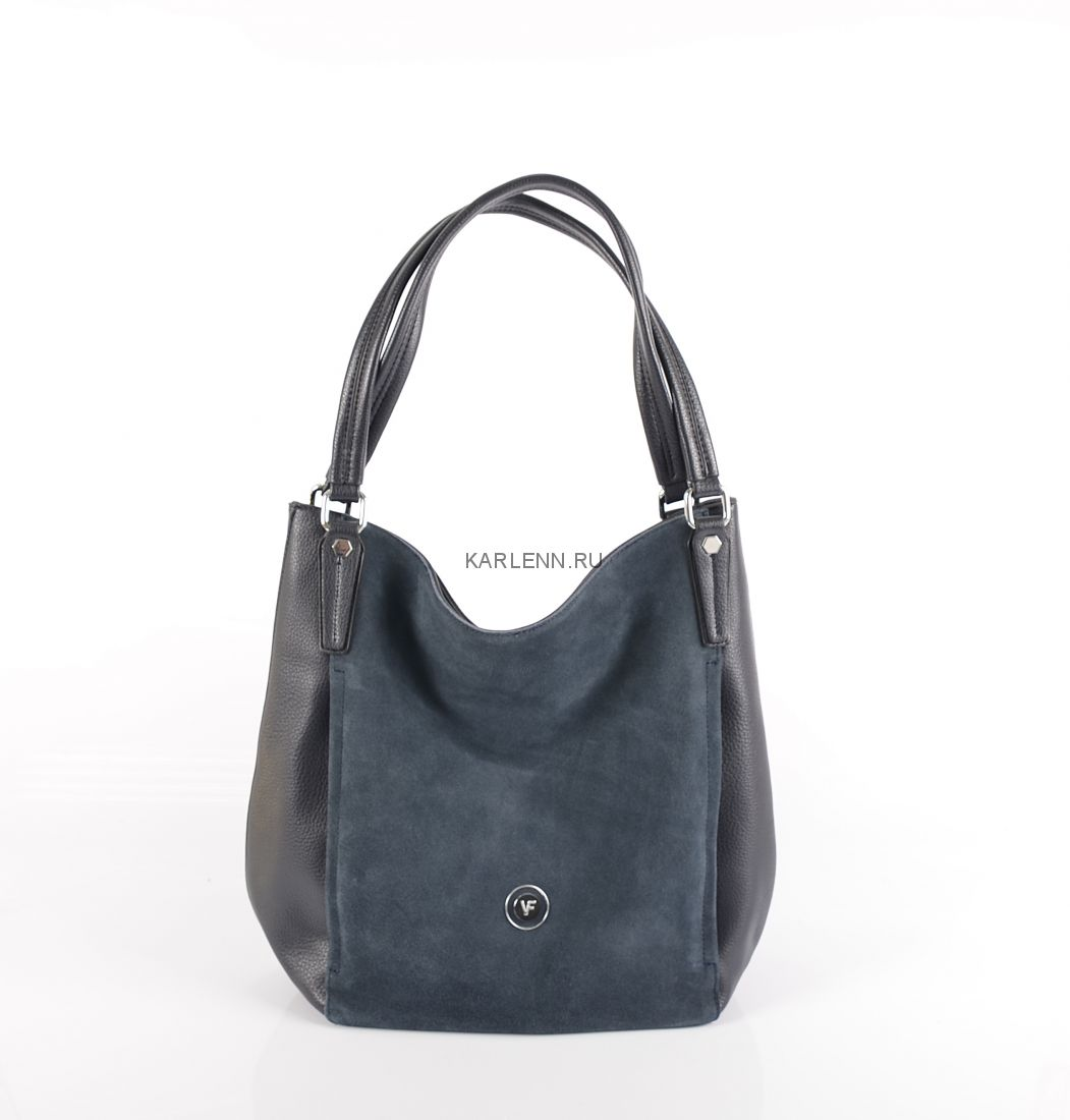 Сумка-мешок Velina Fabbiano (синяя)