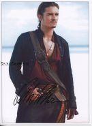Автограф: Орландо Блум. Пираты Карибского моря: На краю Света