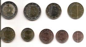 Годовой евро набор Люксембург 2019 UNC ( 9 монет )