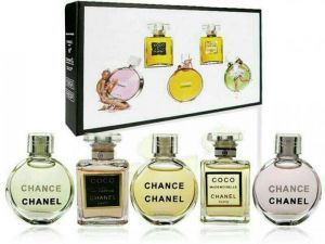 Chanel Chance Eau De Parfum  подарочный  набор 5 в 1