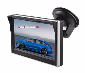 Авто монитор 5 дюймов c присоской на стекло