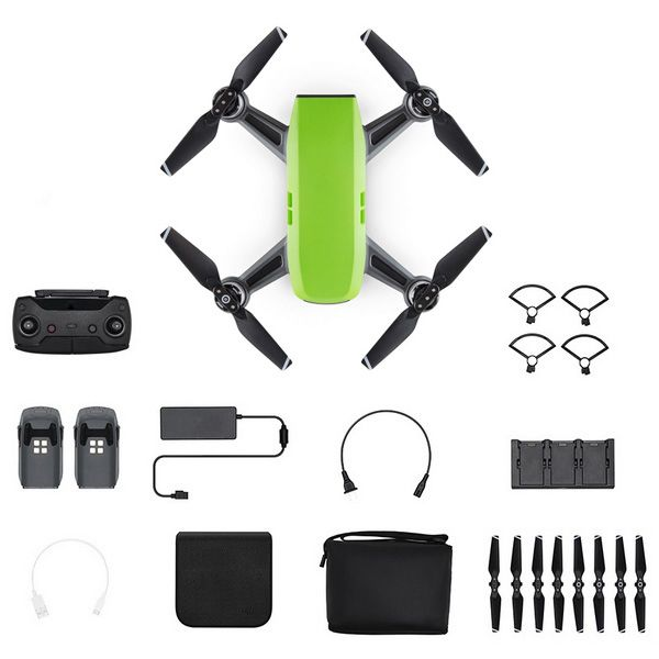 Квадрокоптер DJI Spark Combo (Meadow Green, зеленый)