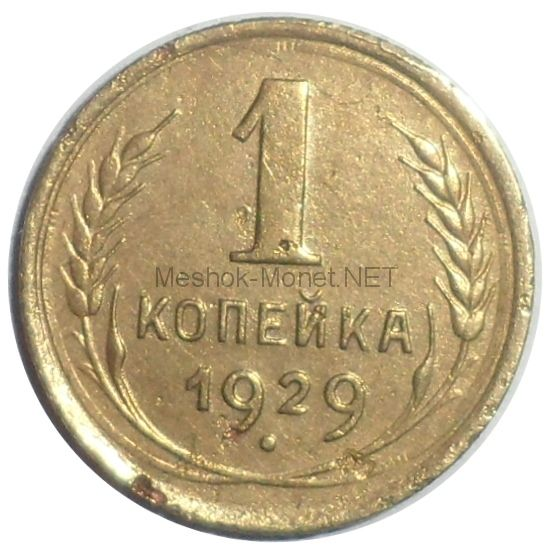 1 копейка 1929 года # 2